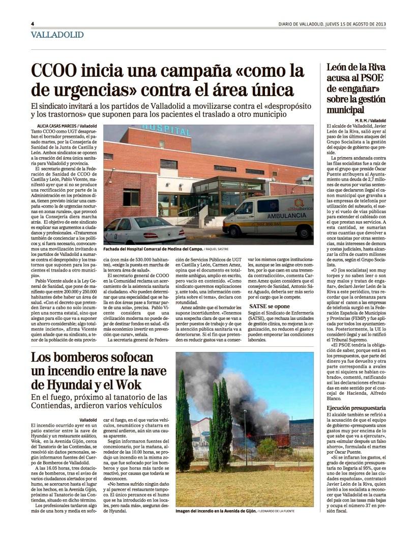 Reportaje Alicia Casas Marcos CCOO