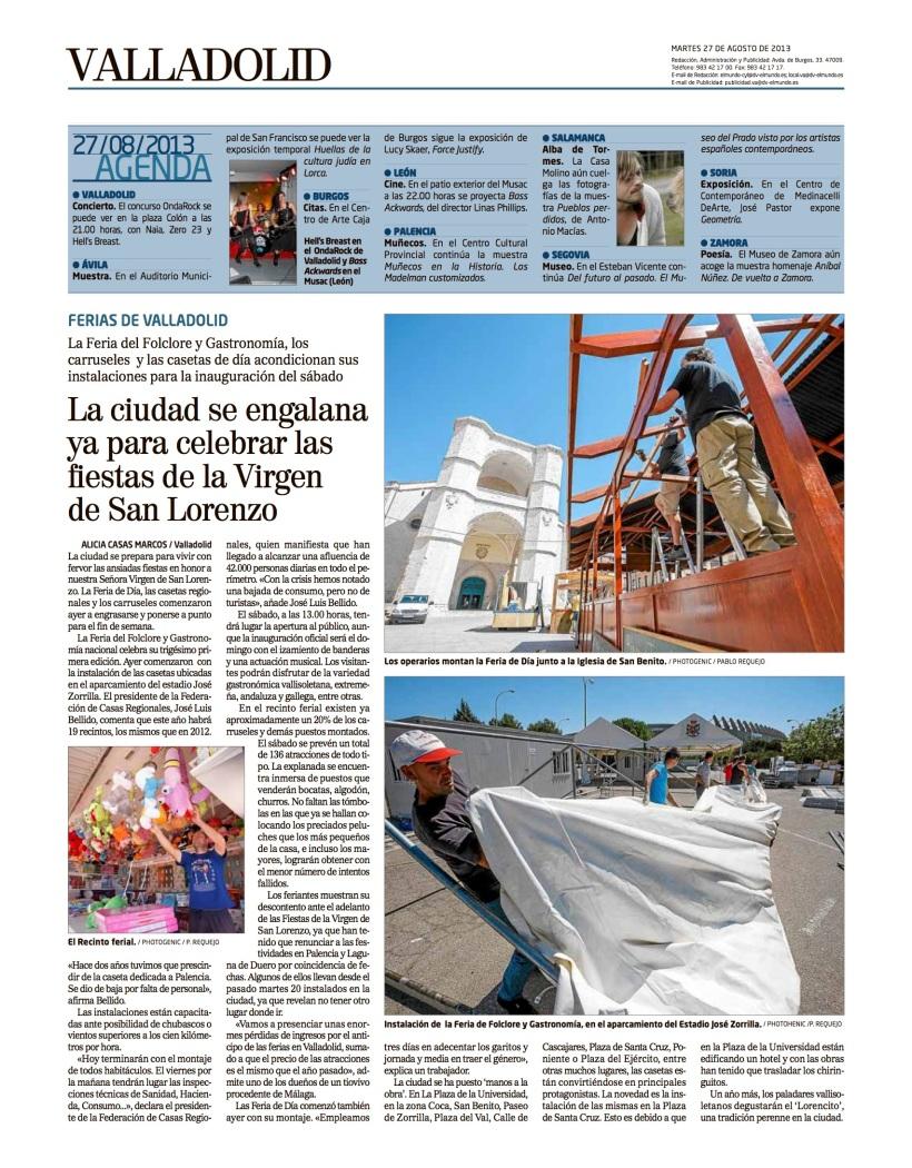 Reportaje Alicia Casas Marcos fiestas