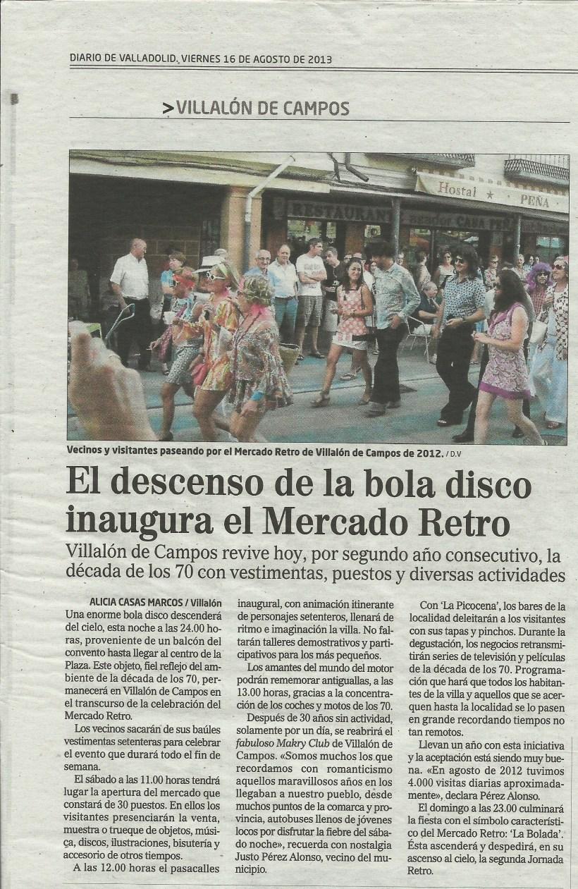 Reportaje Alicia Casas Marcos mercado retro