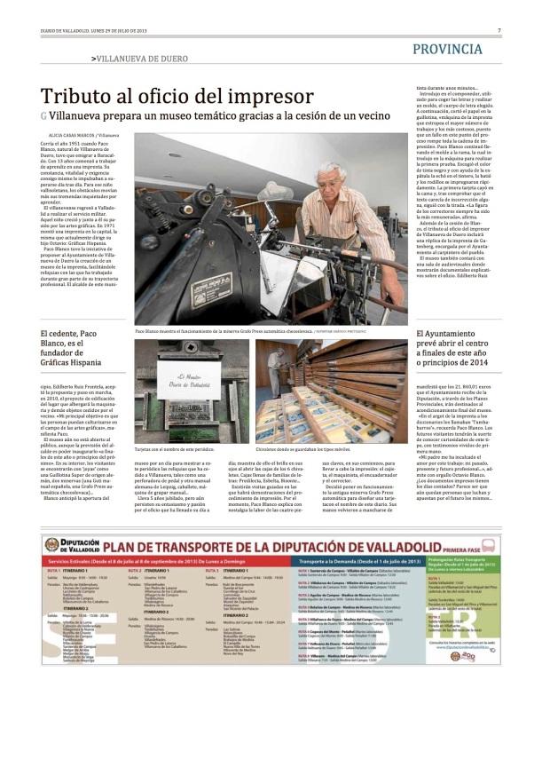 Reportaje Alicia Casas Marcos Oficio Impresor