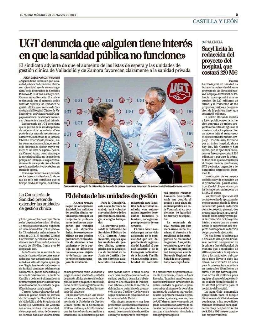 Reportaje Alicia Casas MArcos UGT